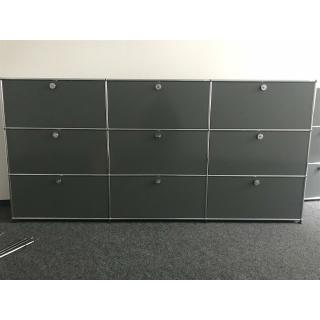 Usm Haller Sideboard 225x35x109 Cm Mittelgrau 269000